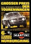 Alfa Romeo Nürburgring-rennen Poster Reprint