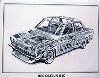 Artwork Shin Yoshikawa Bre Datsun