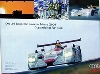Audi Original Renn Poster. 24 Stunden Le Mans. Doppelsieg 2001