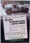 Auto Union Audi Silverarrow Typ