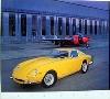 Ferrari 275 Gt B2 Yellow Poster