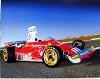 Ferrari 312 T Clay Regazzioni Poster