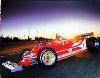Ferrari 312 T4 Jody Scheckter Poster