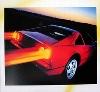 Ferrari 328 Gts, Poster 1991