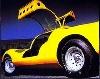 Ferrari Dino Prototype Poster