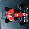 Ferrari F1 87 Poster