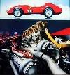 Ferrari 335 Sport Spider Scaglietti Poster