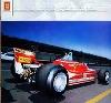Ferrari 312 T4 F1, Jody Scheckter - Poster