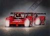 Ferrari Rains 1995 Original Art Print, Poster