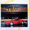 Ferrari Testarossa Poster