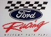 Ford Racing Welcome Race Fans, Original Ford Poster
