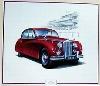 Jaguar Mark Vii 1953, Jaguar Original Poster 1986
