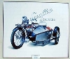 Swallow Super Sports Sidecars, Jaguar Original Poster 1986