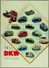 Dkw Schnell-laster Advertisement 1955 Audi