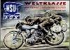 Nsu Fox 1953 Race Motorcycle