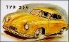 Porsche Typ 356 - Porsche Reprint - Kleinposter
