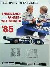 Porsche Original Rennplakat 1985 - Stuck/derek