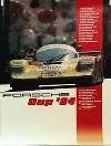 Porsche Original Racing Poster 1984 - Porsche Cup - Good Condition
