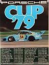Porsche Original Rennplakat 1979 - Porsche Cup - Neuwertig