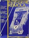 Porsche Original Rennplakat 1972 - Porsche Interserie Keimola - Gut Erhalten