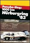 Porsche Sieg Nürburgring 1983 - Porsche Reprint