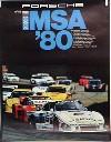 Porsche Original Rennplakat 1980 - Imsa - Gut Erhalten