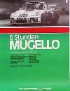 Porsche Original Rennplakat 1977 - 6 Stunden Mugello - Gut Erhalten