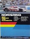 Porsche Original Rennplakat 1987 - 200 Meilen Norisring - Lädiert