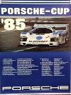 Porsche Original Rennplakat 1985 - Porsche Cup - Gut Erhalten