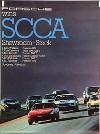 Porsche Original Rennplakat 1980 - Porsche 924 Gewinnt Scca - Gut Erhalten