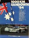 Porsche Original 1984 - 1000 Km Sandown - Gut Erhalten