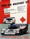 Porsche Original 1985 - 1000 Km Mosport - Gut Erhalten