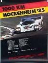 Porsche Original 1985 - 1000 Km Hockenheim - Leichte Gebrauchsspuren