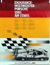 Porsche Original 1985 - Endurance Weltmeister - Leichte Gebrauchsspuren