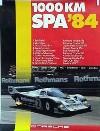 Porsche Original 1984 -1000 Km Spa - Leichte Gebrauchsspuren