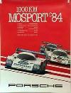 Porsche Original 1984 - 1000 Km Mosport - Gut Erhalten