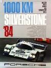 Porsche Original 1984 - 1000 Km Silverstone - Gut Erhalten