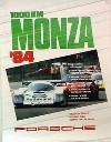 Porsche Original 1984 - 1000 Km Monza - Gut Erhalten