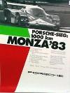 Porsche Original 1983 - Sieg 1000 Km Monza - Leichte Gebrauchsspuren