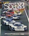 Porsche Original Rennplakat 1983 - Sieg 1000 Km Spa - Lädiert