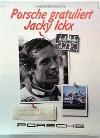 Porsche Original 1982 - Jacky Ickx Fahrer Weltmeisterschaft - Gut Erhalten