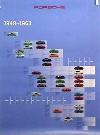 Porsche Original Werbeplakat 1993 - Modellpalette 1948-1963 - Gut Erhalten