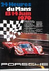 24 Hours Of Le Mans 1970 - Porsche Reprint