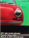 Porsche Original Werbeposter - Porsche 356 B - Gut Erhalten