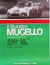 Porsche Original Rennplakat 1977 - 6 Stunden Mugello - Leichte Gebrauchsspuren