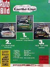 Porsche Original Werbeplakat 1987 - Turbocup - Leichte Gebrauchsspuren