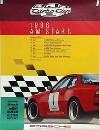 Porsche Original Rennplakat 1986 - Turbocup - Leichte Gebrauchsspuren