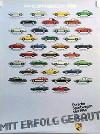 Porsche Original Werbeplakat 1983 - Sportwagen Seit 1948 - Gut Erhalten