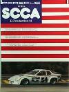 Porsche Original Rennplakat - Porsche 924 Gewinnt Scca - Leichte Gebrauchsspuren