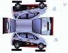 Bastelpostkarte Construction Postcard Coulthard Mercedes